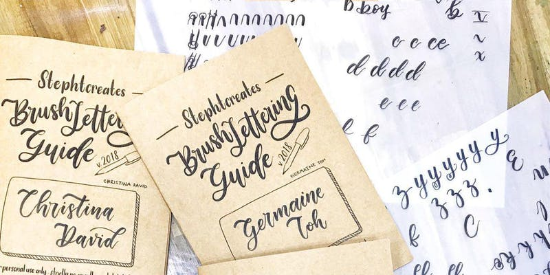 Family special: Brush Lettering Workshop