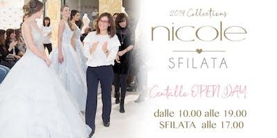 Nicole Spose Centallo. Sfilata e Open Day - 2019 Collections