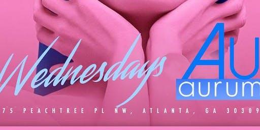 Secret Society Wednesdays this Wednesday @ Aurum