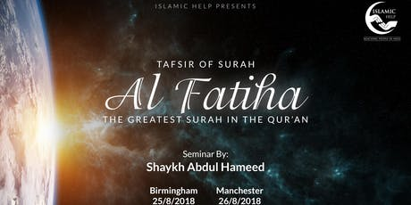 Tafsir of the 4 Quls - Leicester tickets