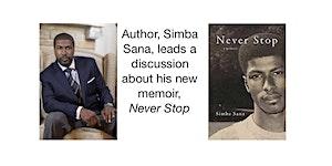 Book Talk: Featuring Author, Simba Sana