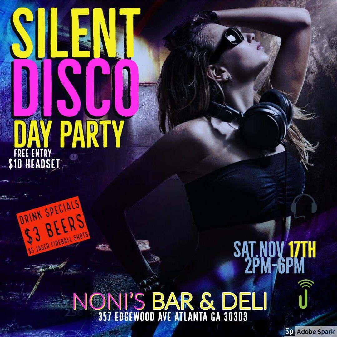 Listen Up Squad: Silent Disco Day Party @Noni