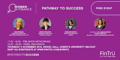 Women in Finance, Pathway to Success
