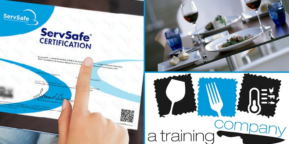 San Ramon Ca Servsafe Food Safety Manager Certification Training