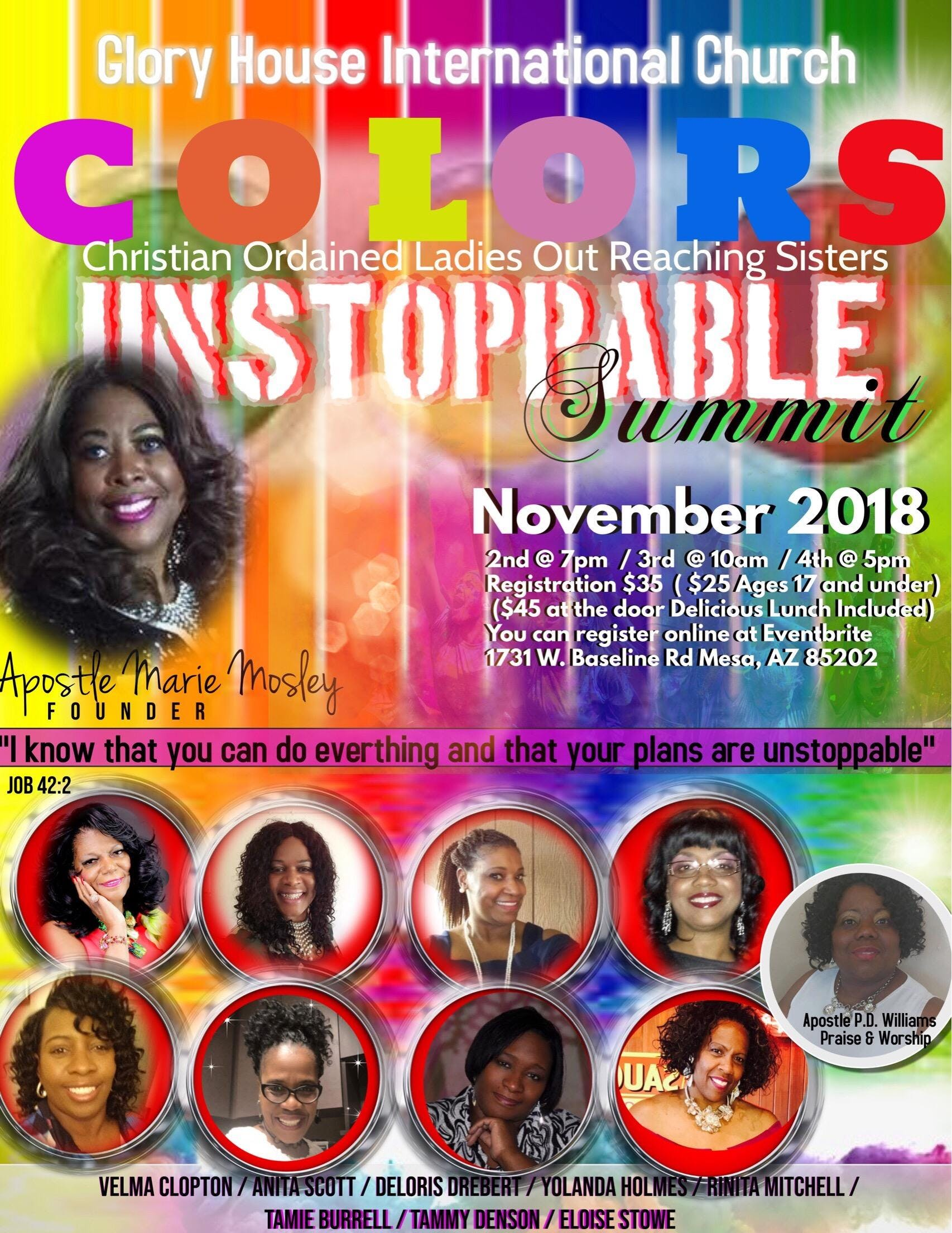C.O.L.O.R.S. Unstoppable Summit