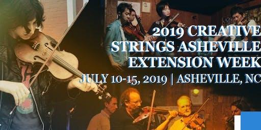 Creative Strings Asheville Extension 2019