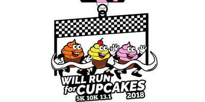 Will Run For Cupcakes 5K, 10K, 13.1  -Detroit
