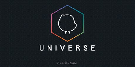 GitHub Universe 2019 tickets