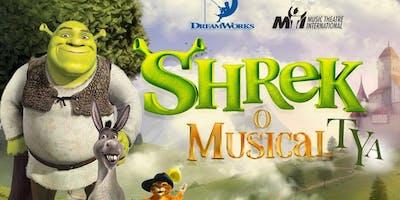Shrek Musical TYA, no Teatro Novo