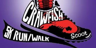 2nd Annual Crawfish Scoot 5K Walk/Run