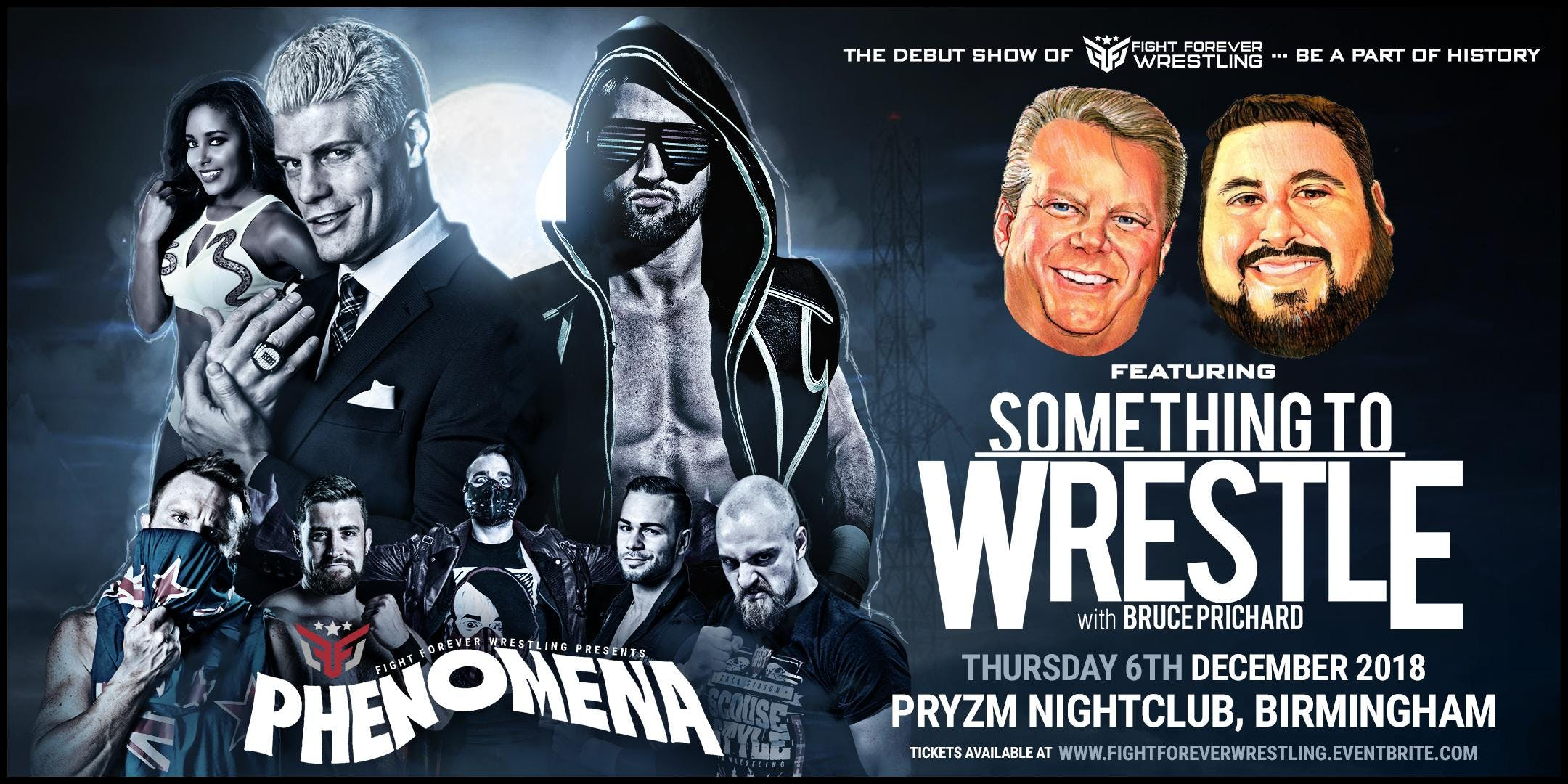 Phenomena feat. Something To Wrestle With Bru