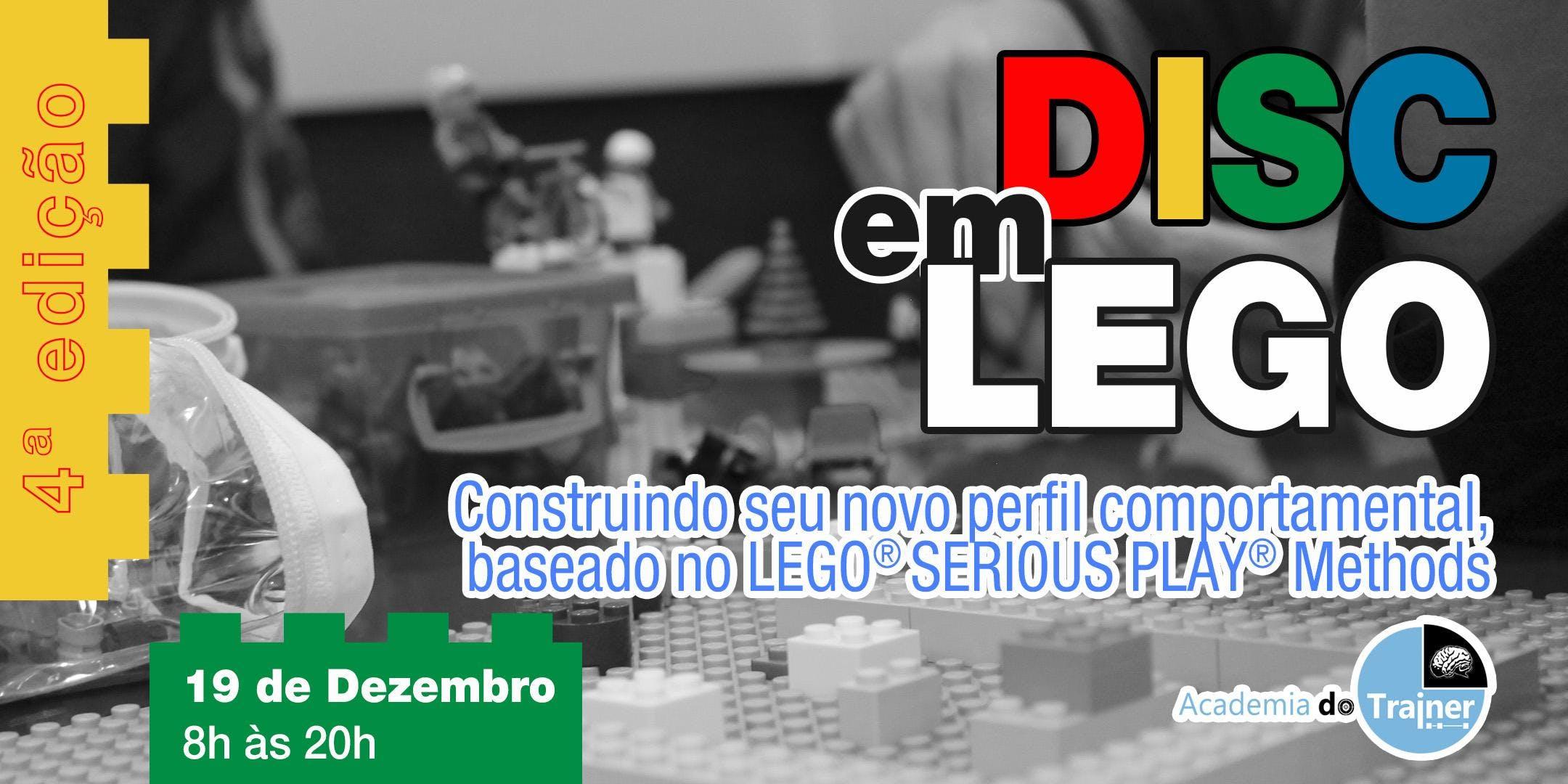 Workshop DISC em LEGO - 4ª Edição