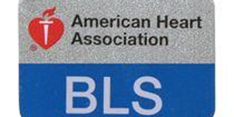 Gulf Bend Center Basic Life Support Training (BLS) tickets