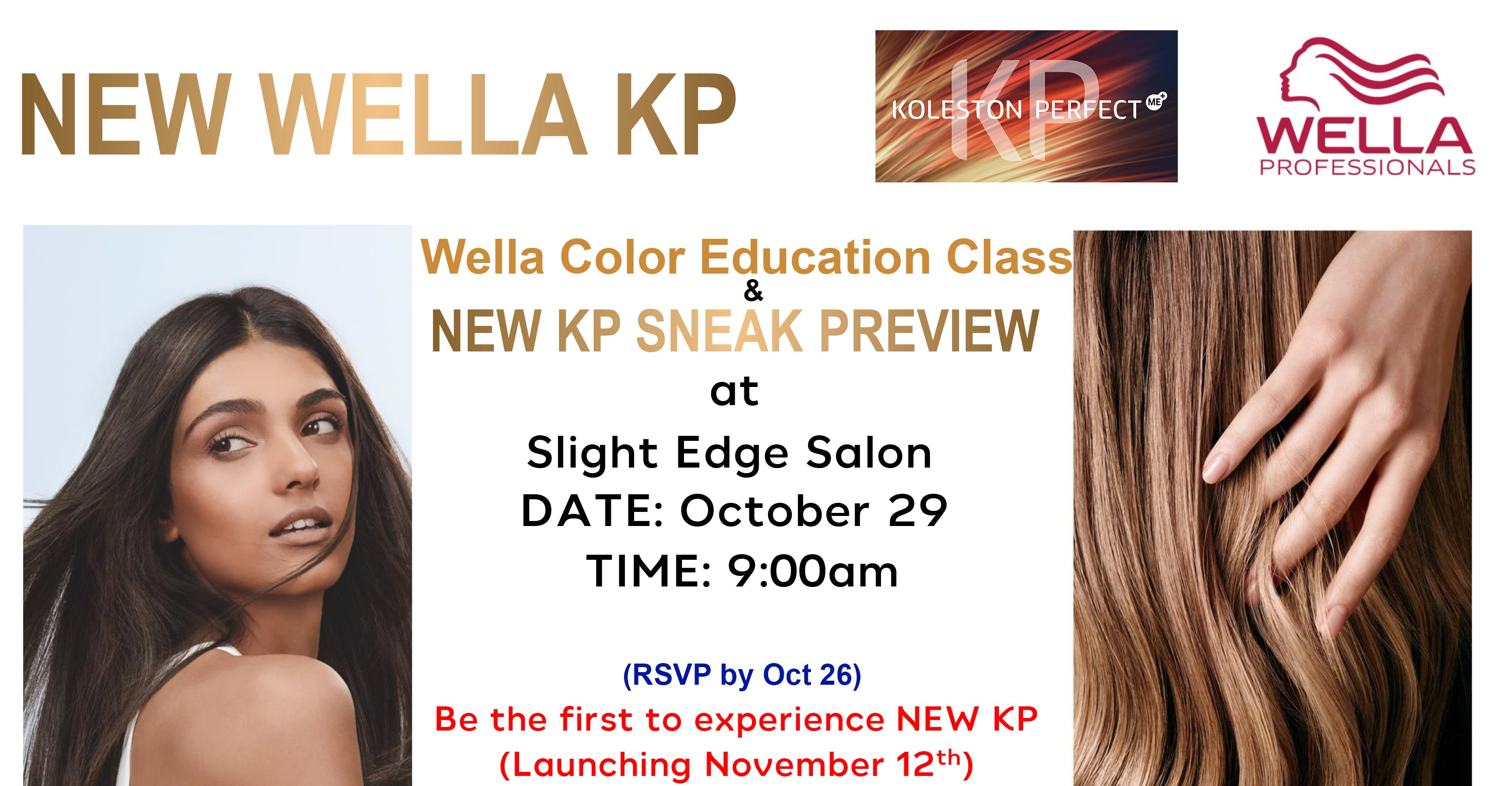 Wella Professional Hair Color Education Class 29 Oct 2018