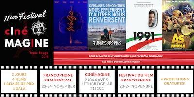 11ème Festival cInéMAGINE - 11th French Movie cInéMAGINE Festival
