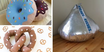 Drop and Shop Holiday Sewing Workshop for KIDS - Sweet and Salty Pillows