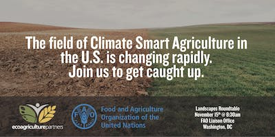Agricultural Landscapes & Climate Change in the US: Recent Policy and Program Developments