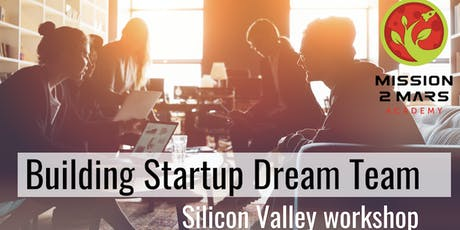Building Startup Dream Team Workshop with Tatiana Indina tickets
