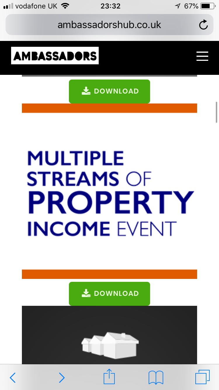 Multiple Steams of Property Income - 3 Day Wo
