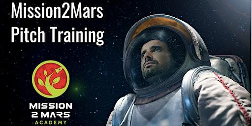 Mission2Mars Pitch Training with Tatiana Indina