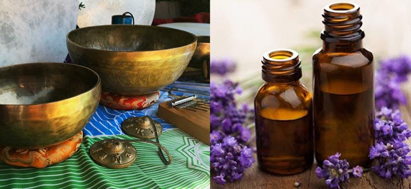 Healing Winter Blues - wellbeing, sound bath and essential oils
