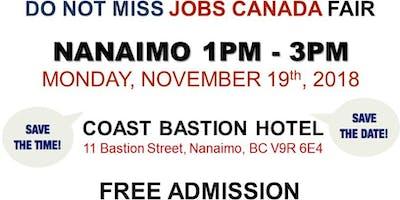 FREE: Nanaimo Job Fair – November 19, 2018