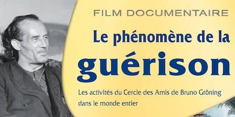 Film Documentaire : « Le Phénomène de la Guérison » à Trois-Rivières billets