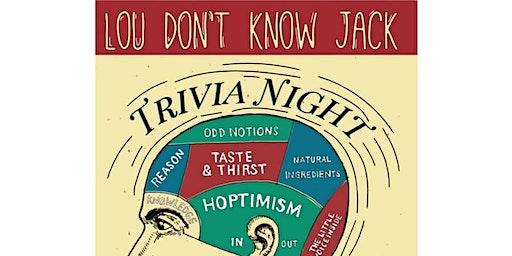 Lou Don't Know Jack Trivia Night