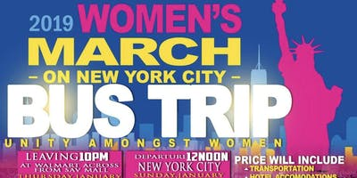 C-PORT WOMEN'S EMPOWERMENT BUS TRIP TO NYC FOR WOMEN'S MARCH 2019