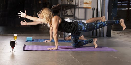 Bend & Brew - Donation Yoga Class at Bootstrap Brewing