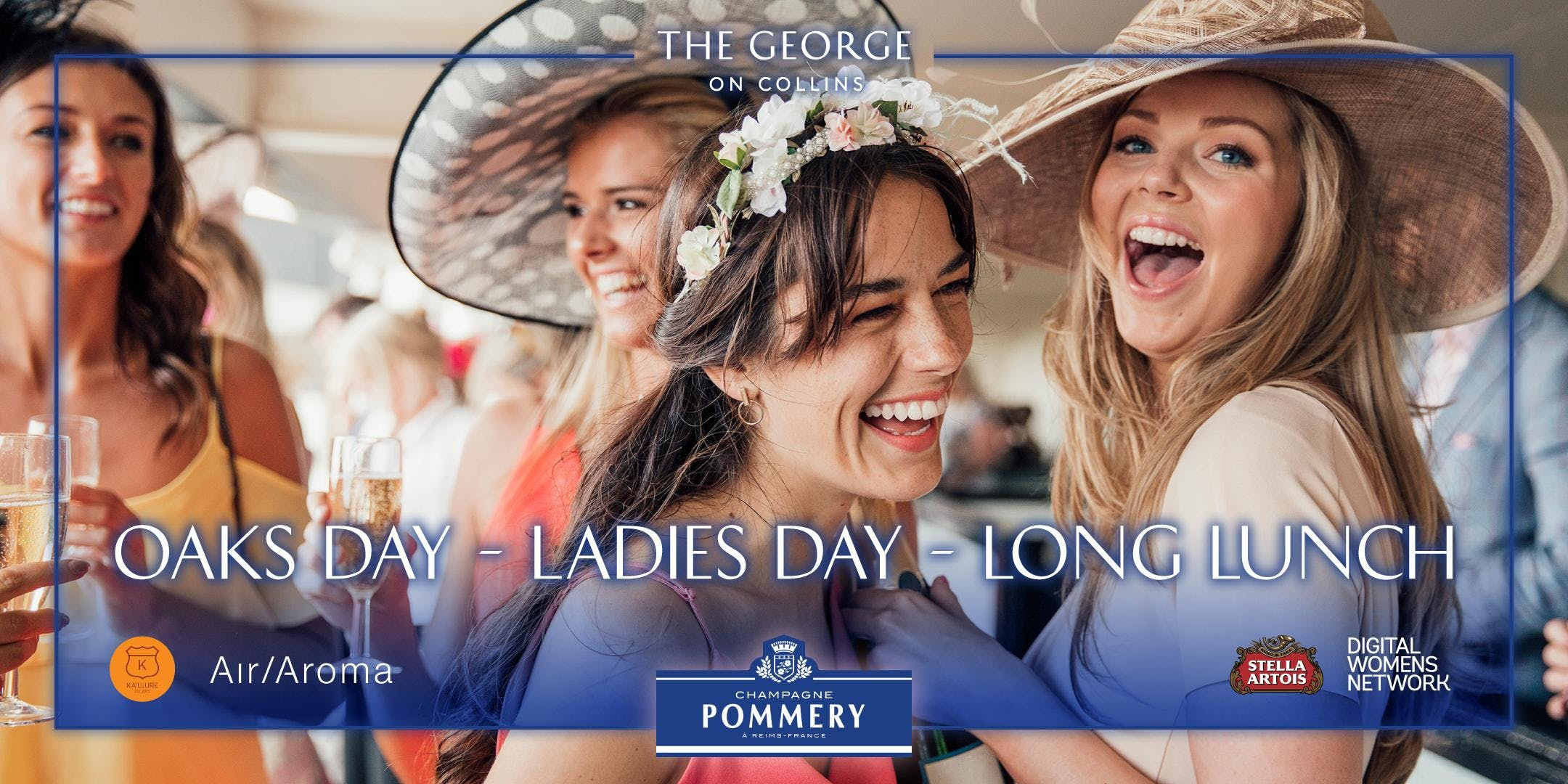 Oaks Day at The George on Collins