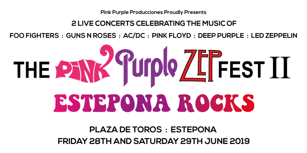 The Pink Purple Zep Fest Ii Estepona Rocks Tickets Multiple Dates Eventbrite