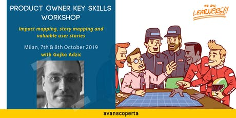 Product Owner Key Skills 2019 - Gojko Adzic (Milan) tickets