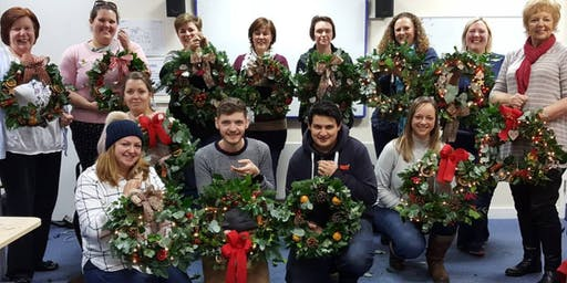 Rudgwick School Christmas Wreath Workshop 2019