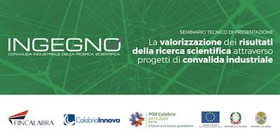 Ingegno: la valorizzazione dei risultati  della ricerca scientifica attraverso progetti di convalida industriale