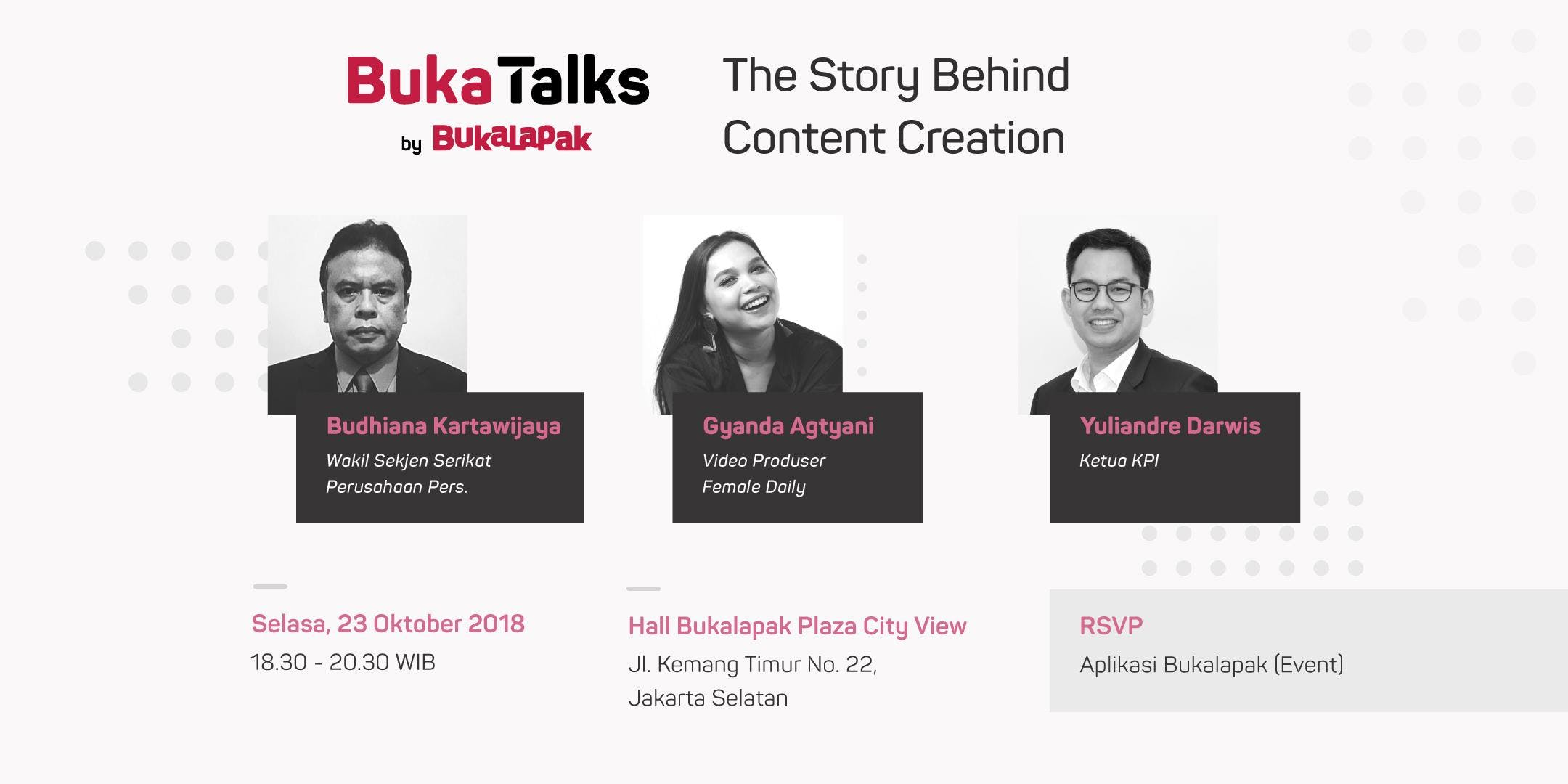 BukaTalks: The Story Behind Content Creation