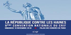 9ème Convention nationale du Crif