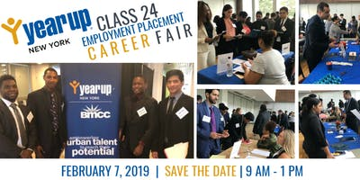 Year Up New York Class 24 - Employment Placement Career Fair