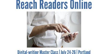 Reach Readers Online in Portland tickets