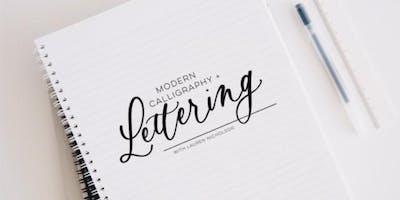 Modern Calligraphy & Lettering Workshop