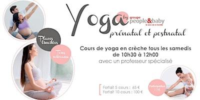 Cours de yoga en crèche - Paris 3