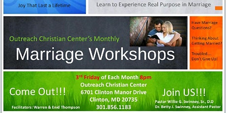 MARRIAGE WORKSHOPS tickets