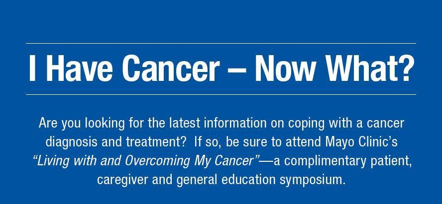 Living with Cancer Patient Symposium
