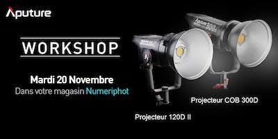 Workshop Projecteurs Aputure