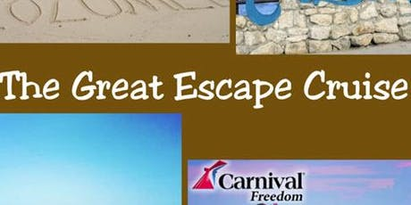 The Great Escape Cruise 2019 tickets