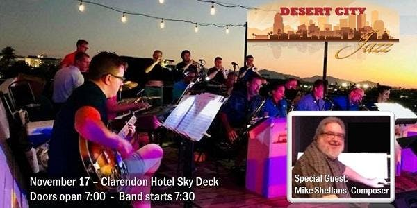 Desert City Jazz with Special Guest Mike Shellans
