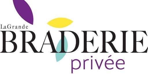 大Braderie Privee -魁北克模式的大Braderie一晚