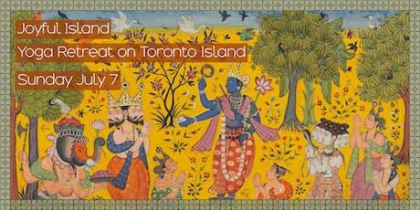 Joyful Island: Yoga Retreat on Toronto Island tickets