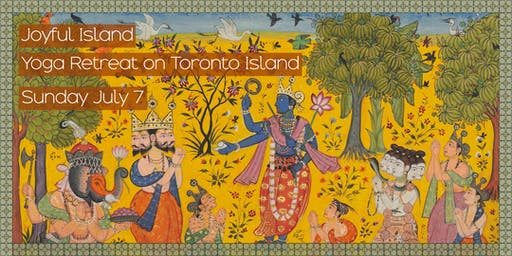 Joyful Island: Yoga Retreat on Toronto Island
