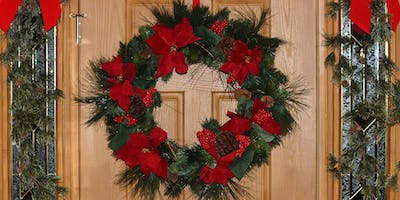 Make Your Own Christmas Wreaths & Homemade Christmas Decorations Workshop